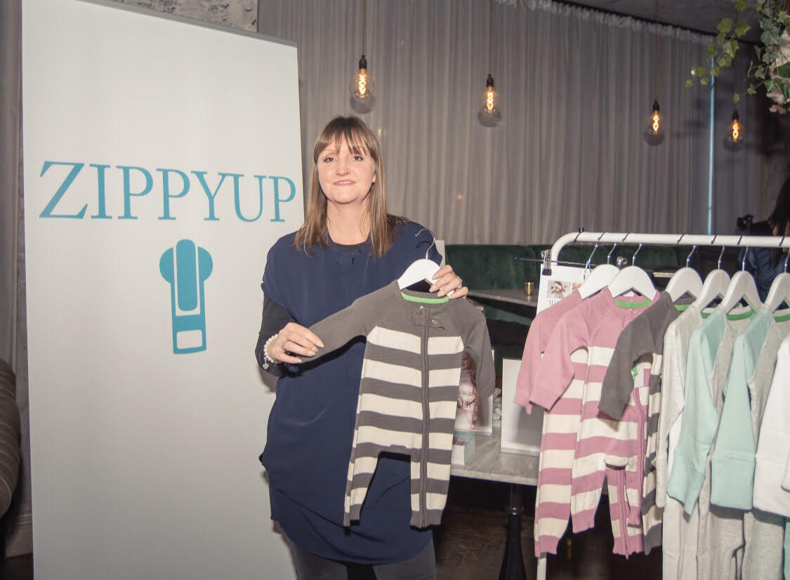 Q & A with Angela Hall, Founder of ZippyUp, Award-Winning Zip-Up Baby-Grows